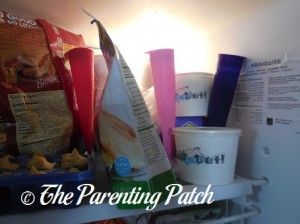 Freezing the Mighty Pops by Sunsella Silicone Ice Pop Molds