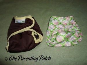 Smallest Settings of Best Bottom Cover and Bumkins One-Size Diaper Cover