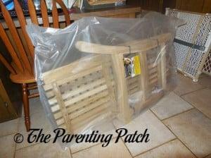Unpacking the Teak Bench Parts
