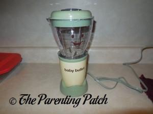 Baby Bullet Batchbowl on Power Base
