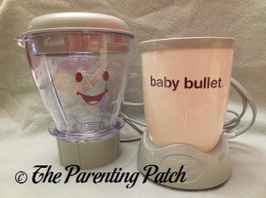 Baby Bullet Batchbowl and Power Base