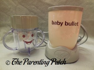 Baby Bullet Short Cup and Power Base