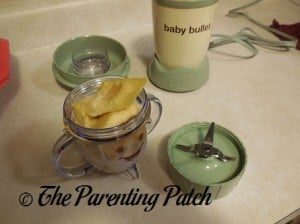 Using the Baby Bullet Short Cup 1