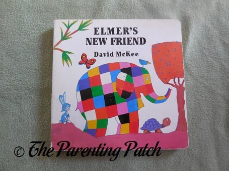 Cover of Elmer's New Friend