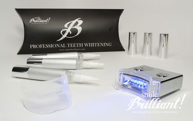 Smile Brilliant Ventures LED Teeth Whitening Giveaway