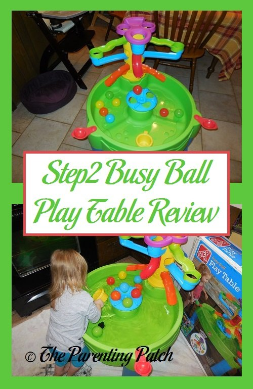 Step2 Busy Ball Play Table Review