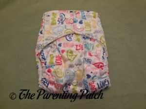 Front of Royal Fluff One-Size Pocket Diaper