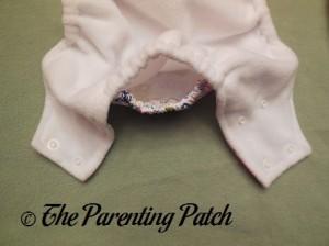 Pocket Opening of Royal Fluff One-Size Pocket Diaper