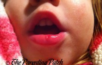 Toddler Accidents: Poppy Gives Herself a Fat Lip
