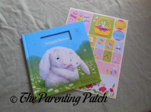 My Snuggle Bunny Book and Egg-Cellent Easter Personalized Stickers