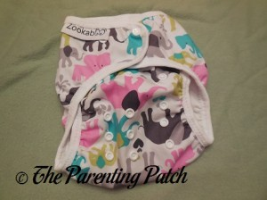 Front of the Custom Made Zookaboo Diaper Cover