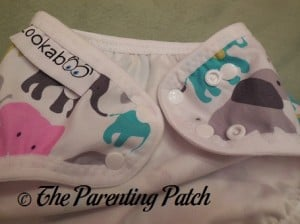 Hips Snaps of the Custom Made Zookaboo Diaper Cover