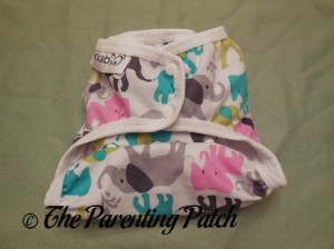 Smallest Setting of the Custom Made Zookaboo Diaper Cover