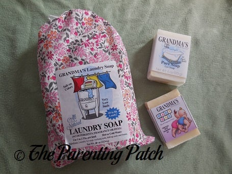 Grandma's Pure and Natural Laundry Soap and Soaps