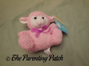 Pink Plush Lamb