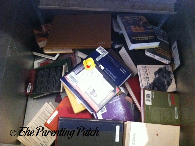 The Duck in the Book Drop