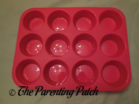 OvenArt Bakeware Silicone Muffin Pan