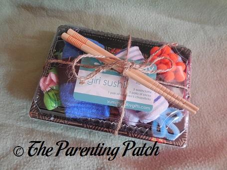 Yummy Baby Gifts Nigiri Sushi Gift Set 1