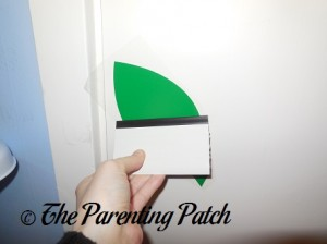 Applying the Decal to the Wall