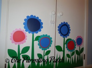 Flower Decals on Wall