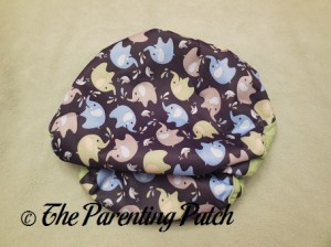 Back of Blueberry Coverall Diaper Cover