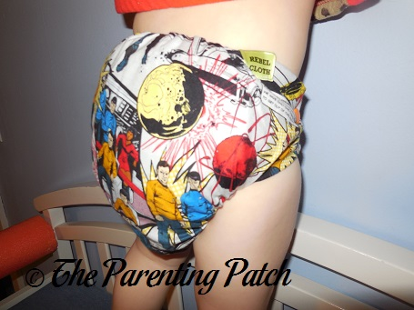 Star Trek Rebel Cloth Cloth Diaper 8