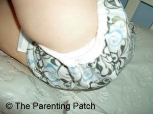 Leg of Swirls Capri on Toddler