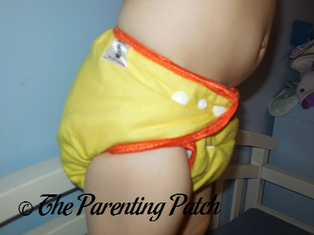Candy Corn Rebel Cloth Cloth Diaper 8