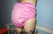 Pink Real Nappies: Daily Diaper