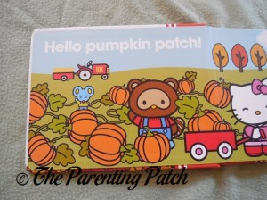 Inside Pages of Hello Kitty, Hello Fall!