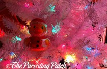The Duck in the White Christmas Tree: The Rubber Ducky Project Week 52