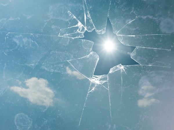 Sunlight Through Broken Glass