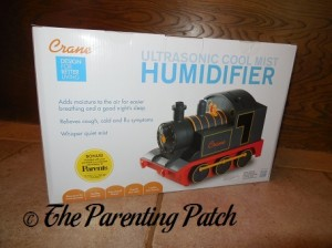 Crane Train Ultrasonic Cool Mist Humidifier  Box