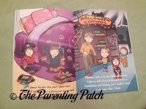 My Twins' First Halloween Inside Pages
