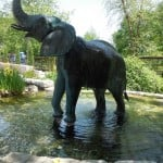 The Duck and the Elephant Statue