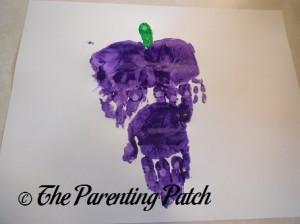 Adding the Green Fingerprint to the Purple Handprints