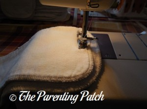 Sewing the Two Inserts Together 1