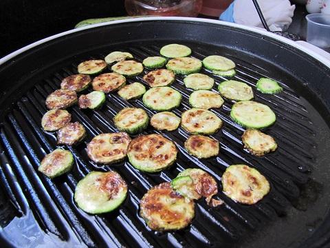 Zucchini on Grill