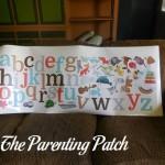 Sunny Decals Alphabet Fun Fabric Wall Decal Set