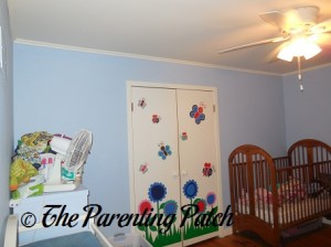 Nursery Wall Without Sunny Decals
