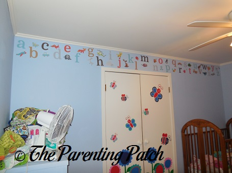 Fancy Wall Decorated with Sunny Decals