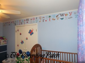 Wall Decorated with Sunny Decals 2