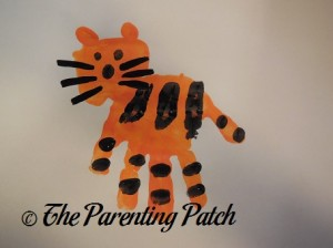 Painting on Black Tiger Whiskers