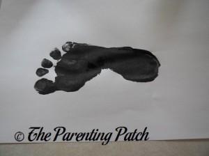 One Black Footprint