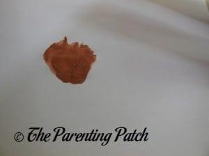 One Brown Palm Print