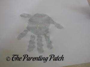 Adding a Light Gray Fingerprint
