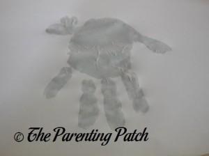 Adding Two Light Gray Fingertip Prints