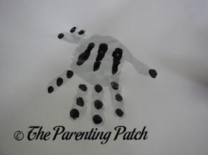 Adding Black Fingerprint Stripes
