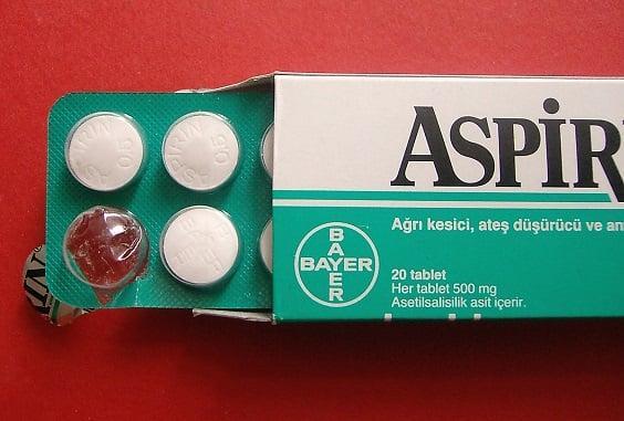 Aspirin Pills in Box