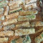 Italian Parmesan Zucchini Fries